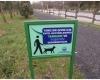 Köpeklerinizi Serbest Bırakmayın tabelaları